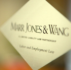 Marr, Jones & Wang